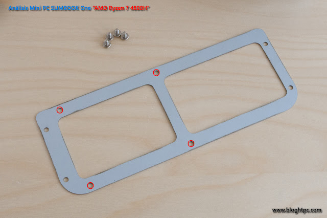 INTERIOR MINIPC SLIMBOOK ONE AMD RYZEN 7 4800H