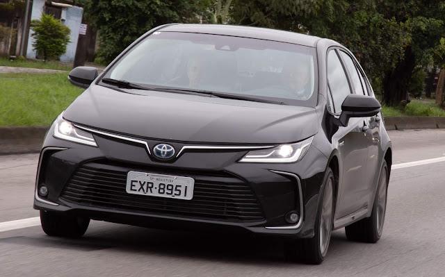 Novo Toyota Corolla Híbrido 2020 - Preto