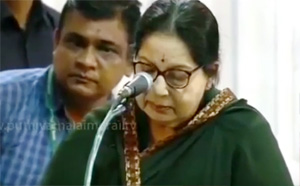 Jayalalithaa takes oath as the Chief Minister of Tamil Nadu