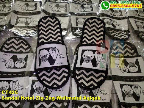 Grosir Sandal Hotel Zig Zag Walimatul Aqiqah