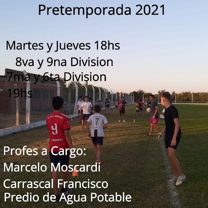 TEMPORADA 2021 EN VILLA DEL PARQUE