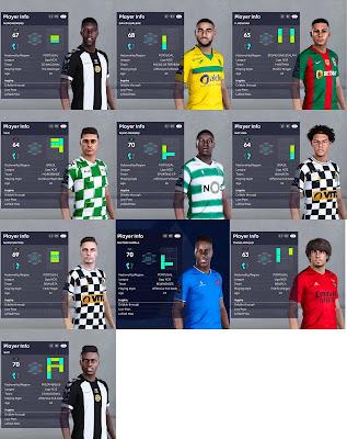 PES 2021 Liga NOS Facepack 2
