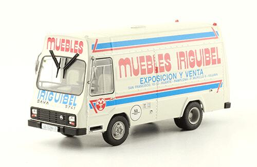 Pegaso SAVA Cosmos 1984 Muebles Iriguibel vehículos de reparto y servicio salvat