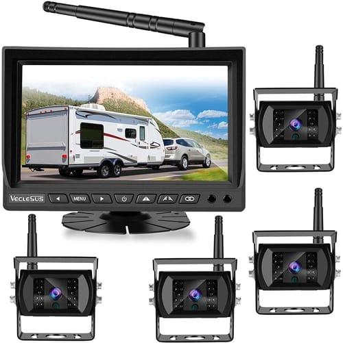 VECLESUS VMW7-4C Car Wireless Backup Camera