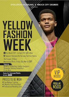 YELLOW FASHION WEEK (ALL YOU NEED TO KNOW)