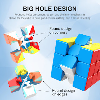 MoYu Meilong 3x3x3 big hole design