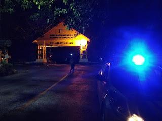 Jaga Kondusifitas Malam, Polsek Enrekang Gelar Patroli Jam Rawan