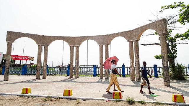 Restaurants in Libreville beach like Akouango Beach