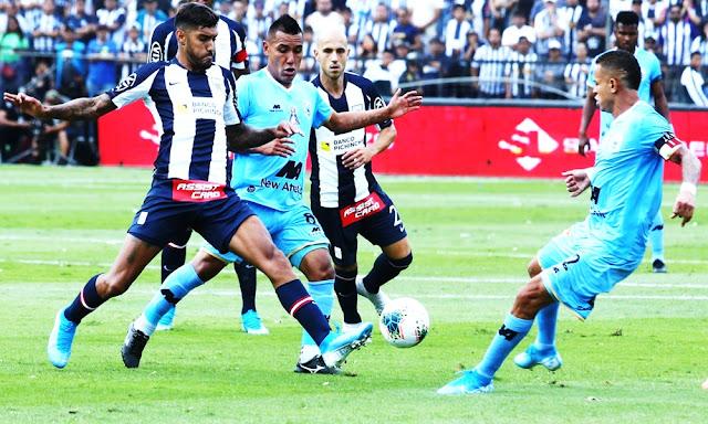 Alianza Lima recibió a Binacional en la segunda final de la Liga 1