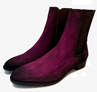 paulus bolten suede boots patine violine