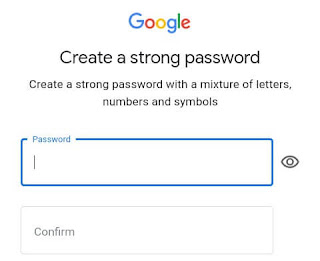 Email id password