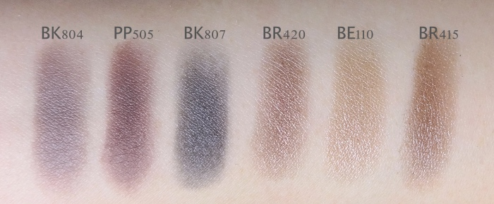 Etude House Look At My Eyes Swatches