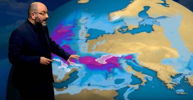 Αρναούτογλου: Ελάχιστες βροχές και μετά πάλι λιακάδες (βίντεο)