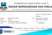 Permohonan Percepatan Aktivasi MySAPK ASN Kabupaten Garut