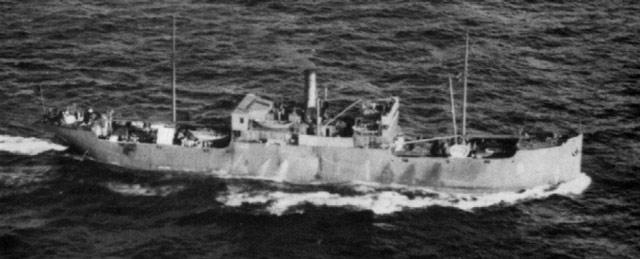 Q-Ship Evelyn, 10 May 1942 worldwartwo.filminspector.com