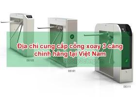 Địa chỉ mua cổng xoay 3 càng tại Việt Nam chính hãng