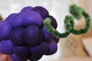 Pola Flanel Buah Anggur
