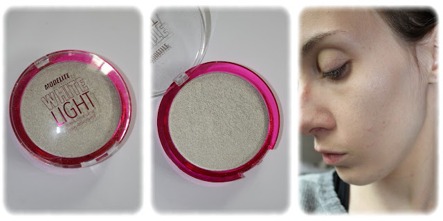 Swatch Highlighter White Light - Modelite