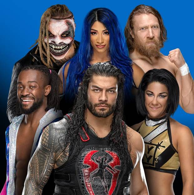 WWE Friday Night Smackdown (21 February 2020) English 720p HDRip 950MB