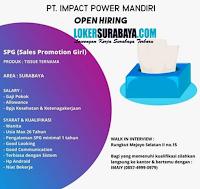 Lowongan Kerja Surabaya di PT. Impact Power Mandiri Agustus 2020