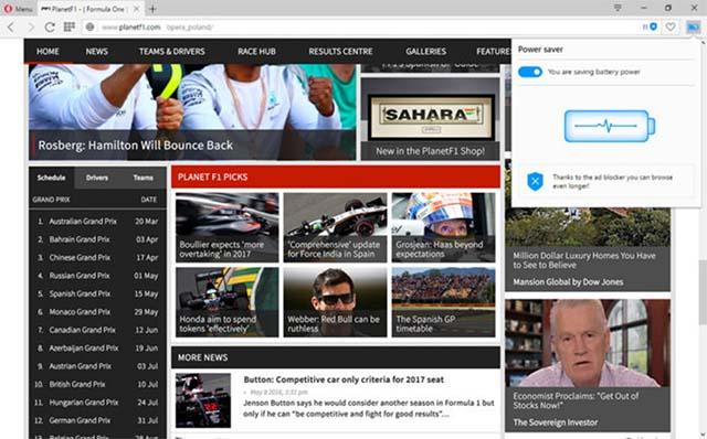 Opera Versi 55 Kini Support Dengan Ekstensi Google Chrome