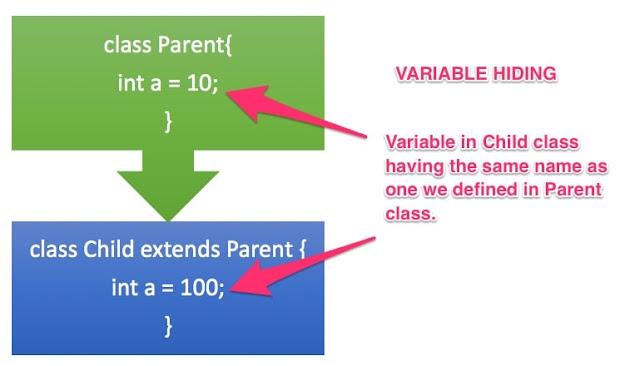 variable hiding in java