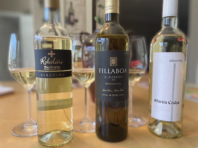 Albarino wines from Rias Baixas