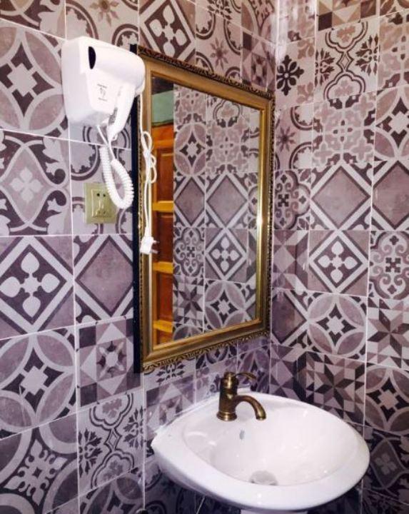 Kampong Pinang Sebatang Chalet bilik air