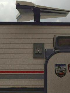 Nuestra caravana.