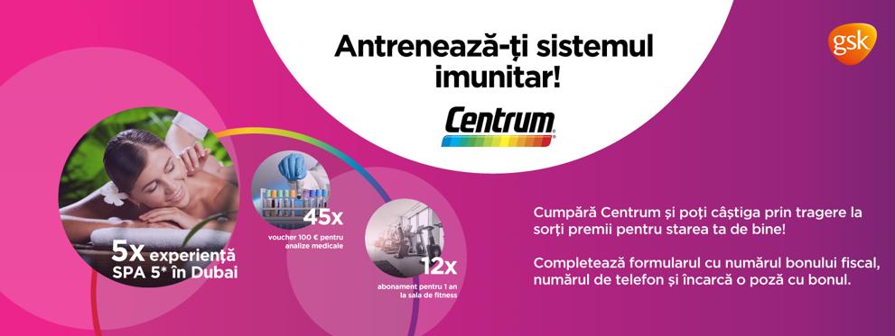 Concurs Centrum - Castiga 3 experiente SPA de 5* in Dubai - concursuri - online - 2021