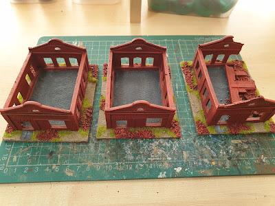 3 Faller Boiler Houses