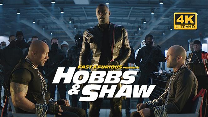 Rápidos y furiosos Hobbs & Shaw (2019) 4K UHD 2160p Latino-Castellano-Ingles