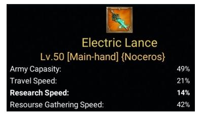 Gear Untuk Mempercepat Laju Riset Lords Mobile