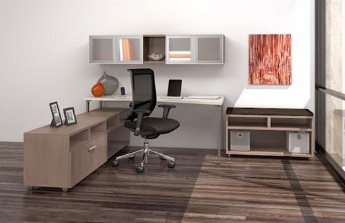 Mayline e5 Office Desk Typical
