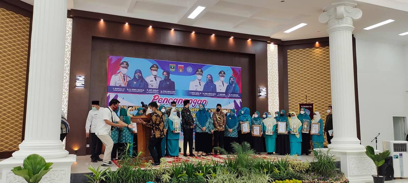 Kenagarian Guguak Tabek Sarojo Meraih Peringkat Ke-2 Se-Kabupaten Agam BBGRM XVIII Tahun 2021
