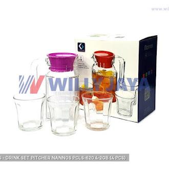 KIMGLASS - DRINK SET/ PITCHER NANNOS PCLS-620/4-2GB (4 PCS)