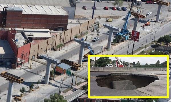 Empresa del socavón en Paso Exprés construirá Línea 3 del Tren Ligero de Guadalajara; la obra va atrasada