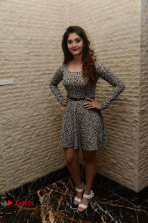 Actress Shurabhi Pictures in Short Dress at Vivo Global's V5 Smartphone Launch  0031