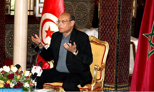 الرئيس التونسي السابق: بعض القوى عازمة على إجهاض أي تسوية في الصحراء المغربية