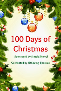 100 Days of Christmas Giveaway, ends 12/24