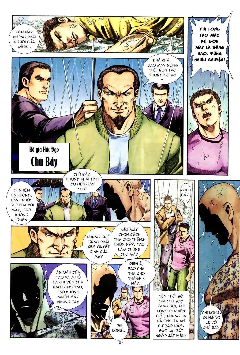 Đại Ca Giang Hồ chap 8 - Trang 16