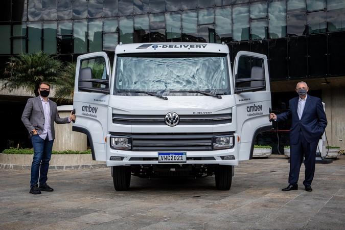 Volkswagen Caminhões e Ônibus entrega primeiro e-Delivery para Ambev