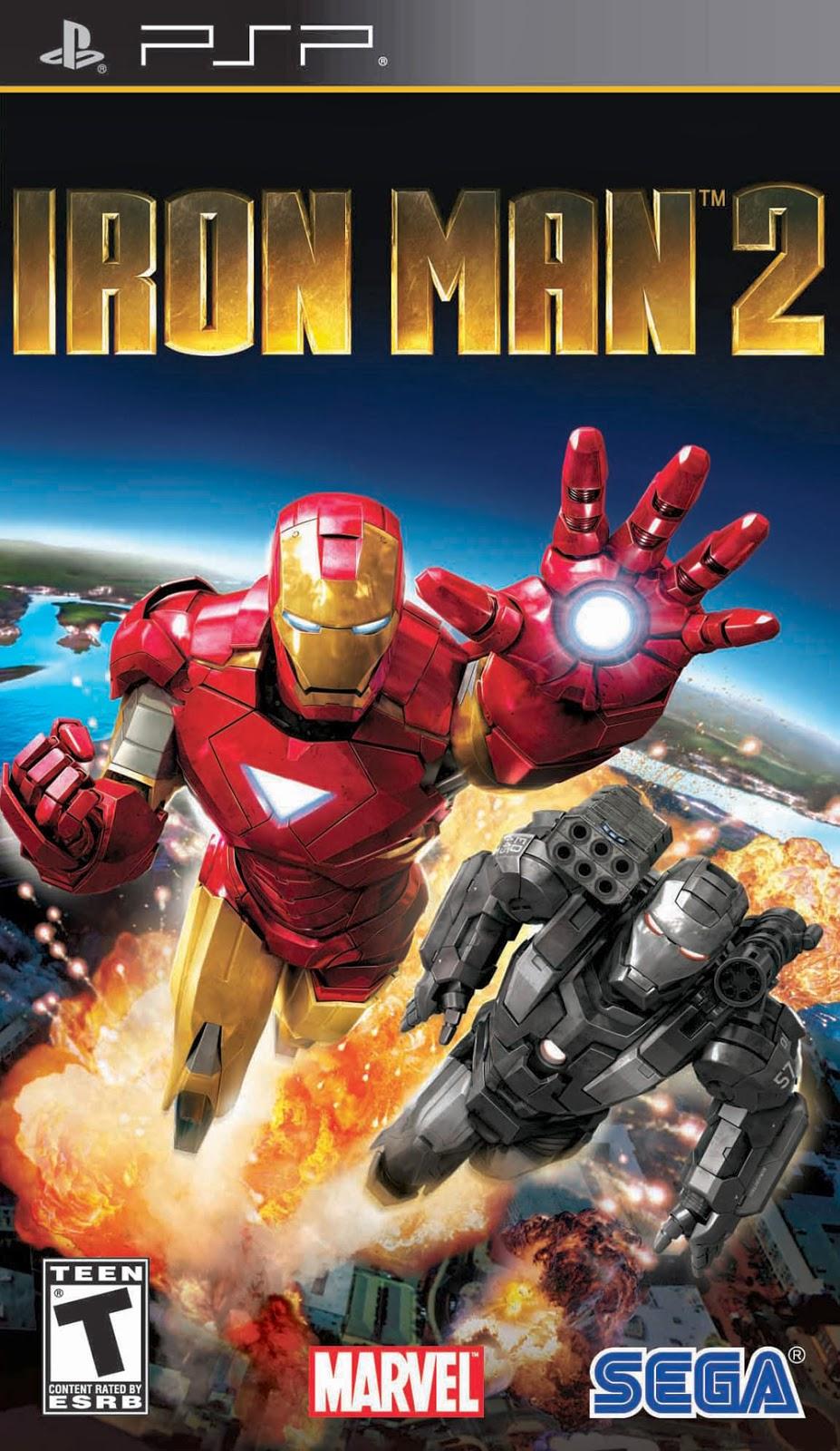 Iron man Psp iso
