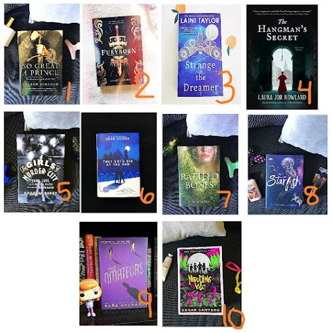 Book Review Roundup | BLOGTOBER 🍂☕🎃