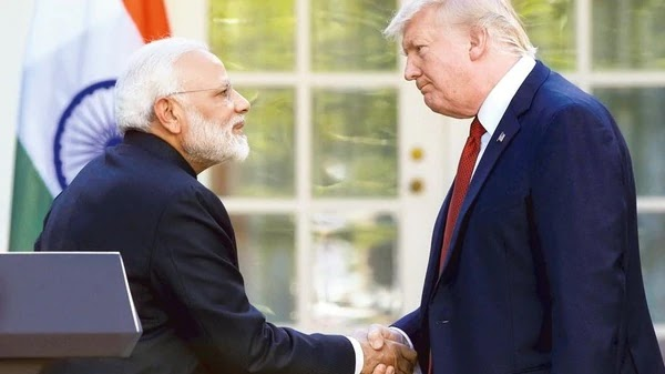 Apart from Donald Trump, which other US President has visited India and what was the result?