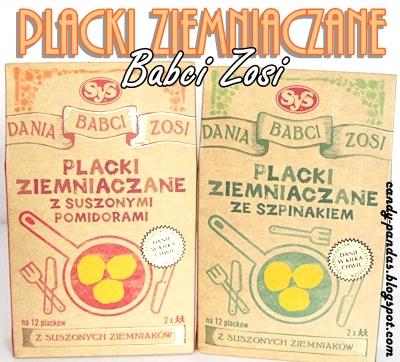 Placki ziemniaczane (z pomidorami/szpinakiem) babci Zosi - SyS