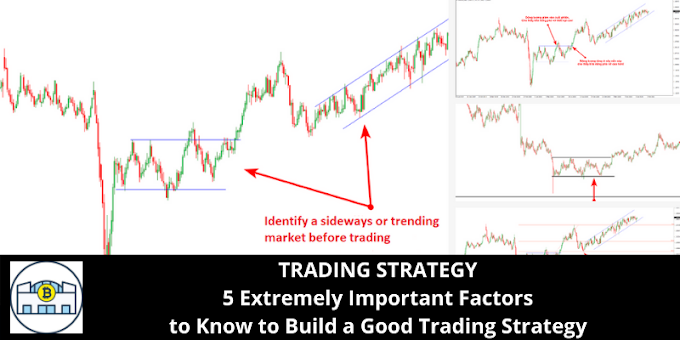TRADING STRATEGY: 5 Extremely Important Factors to Know to Build a Good Trading Strategy