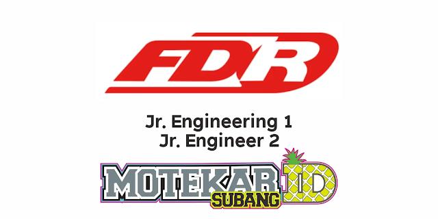 Info Lowongan Kerja FDR Tire PT Suryaraya Rubberindo Industries Maret 2021