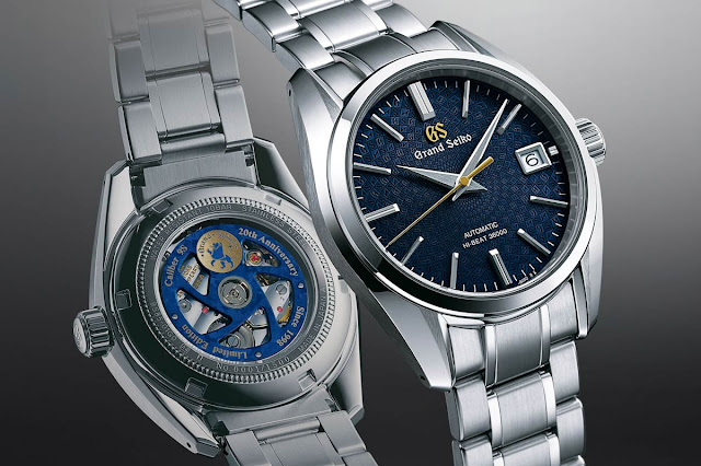 Grand Seiko Hi-Beat 36000 ref. SBGH267G 20th Anniversary