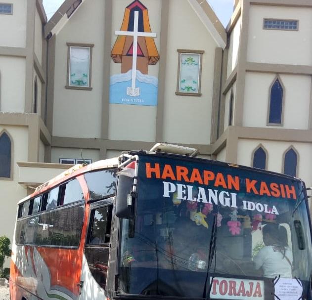 Hari Ini, Sebagian Pengungsi Warga Toraja di Palu, Sudah Menuju ke Toraja